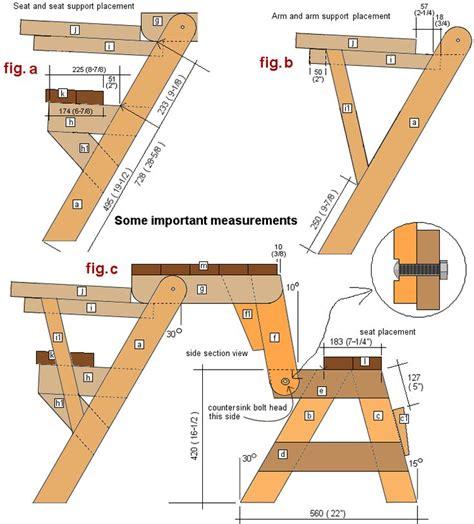 Folding-Bench-Picnic-Free-Plans