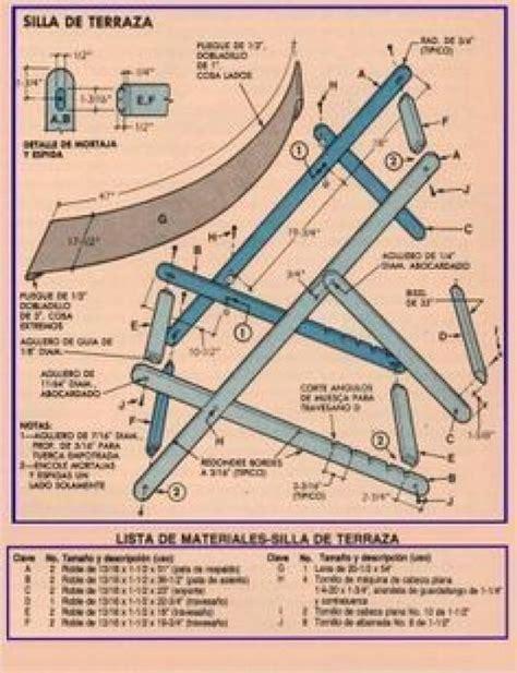 Folding-Canvas-Deck-Chair-Plans