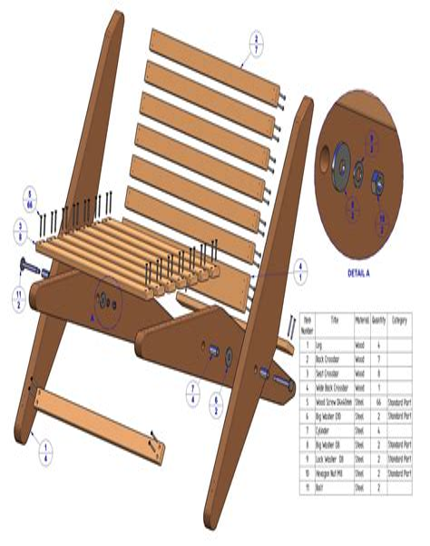 Folding-Chair-Design-Plan