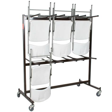 Folding-Chair-Storage-Cart