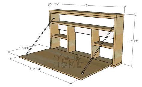 Folding-Desk-Plans-Free