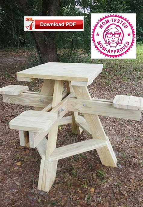 Folding-High-Top-Table-Woodworking-Plan