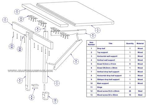 Folding-Leaf-Table-Plans
