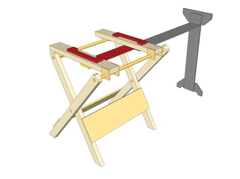 Folding-Mitre-Saw-Stand-Plans