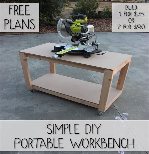 Folding-Mobile-Workbench-Plans