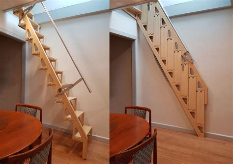 Folding-Stairs-Plans