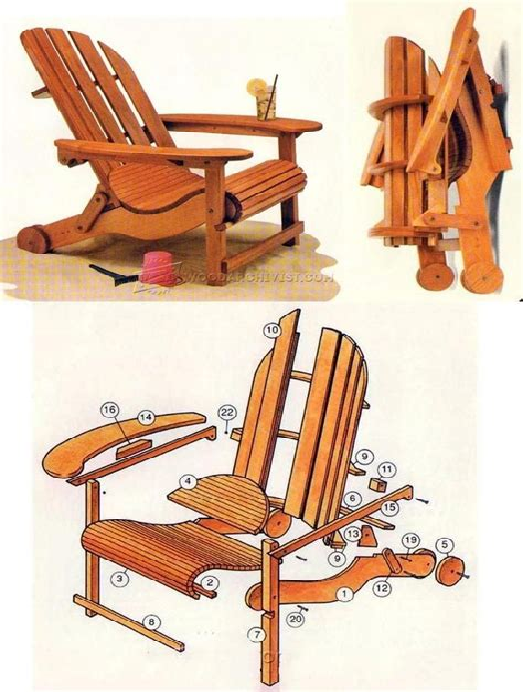 Folding-Wood-Adirondack-Chair-Plans
