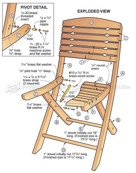 Folding-Wood-Chair-Plans