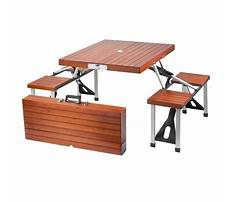 Best Folding picnic table benches