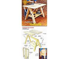 Best Folding work table plans free