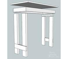Best Folding writing desk plans