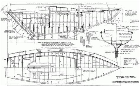 Folkboat-Plans-Wood