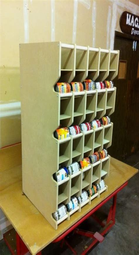 Food-Storage-Can-Rotation-Shelf-Plans