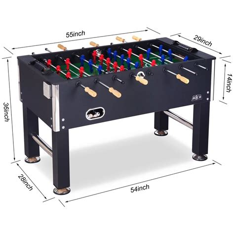 Foosball Table Dimensions In Feet