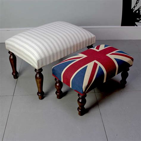 Footstool Upholstered