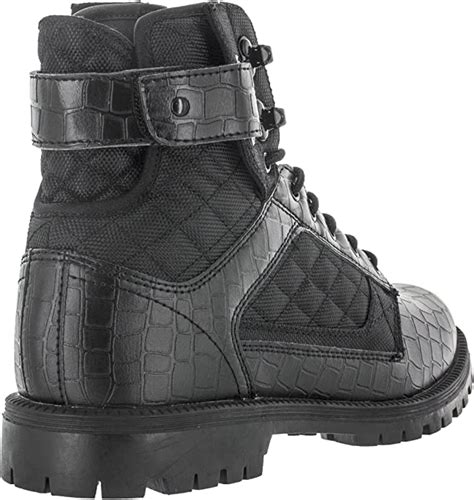 Footwear Men's Atlas Boots NS PU Leather & Canvas High Top Boot