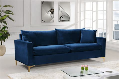 For Cheap Navy Blue Sofa Bed