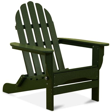 Forest-Green-Plastic-Adirondack-Chairs