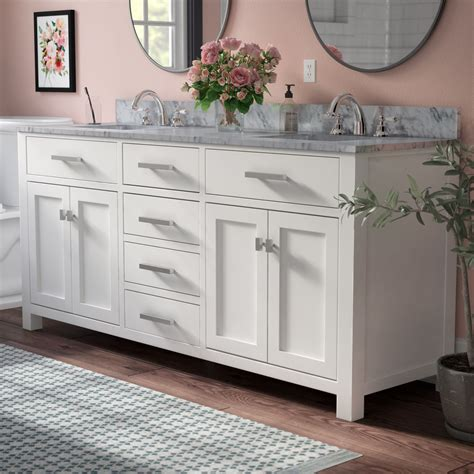 Foret 72 Double Bathroom Vanity Set