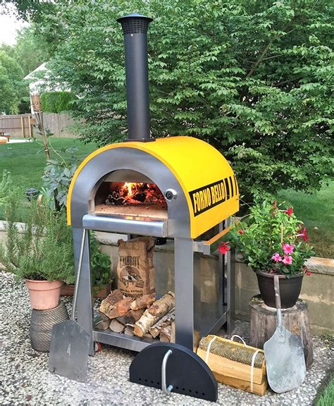 Forno Bello Backyard Wood Fired Brick Oven