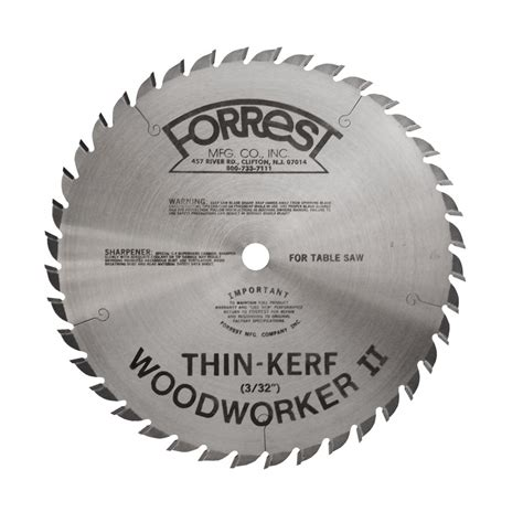 Forrest Woodworker 2 Thin Kerf