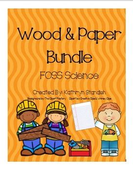Foss-Wood-And-Paper-Lesson-Plans