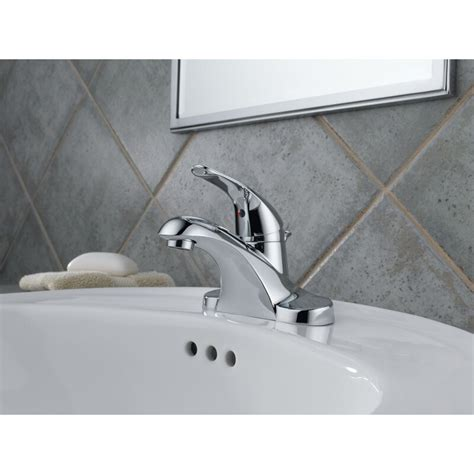 Foundations Centerset Bathroom Faucet With Drain Assembly And Diamond Seal Technology