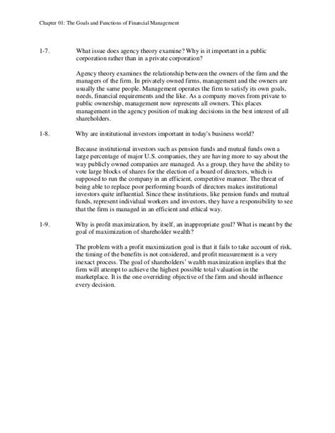 Foundations Of Financial Management Solution Manual And Fundamentals Of Financial Management Concise Ninth Edition Pdf