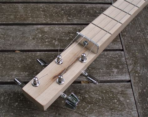 Four String Cigar Box Guitar Plans