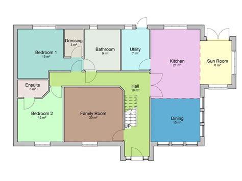 Four-Bed-Bungalow-Plans
