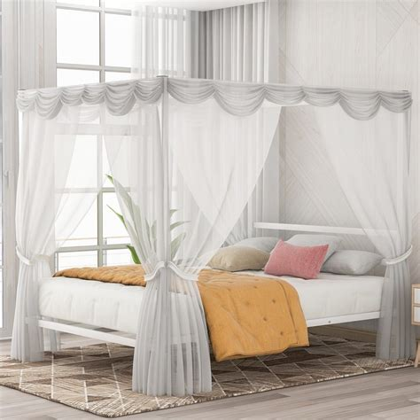 Four-Post-Queen-Bed-Frame-Plan