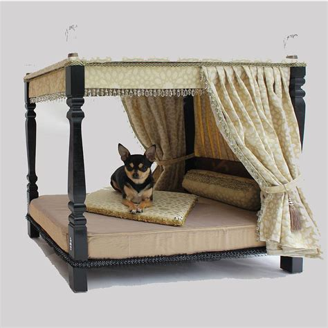 Four-Poster-Dog-Bed-Plans
