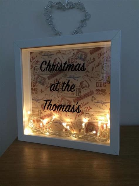 Frame Box Fairy Lamp Diy Projects