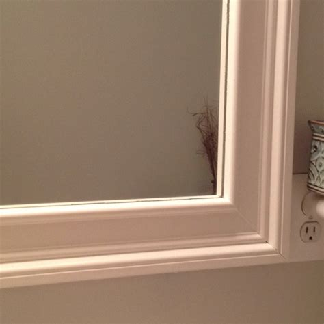 Frame Your Mirror Decorative Molding