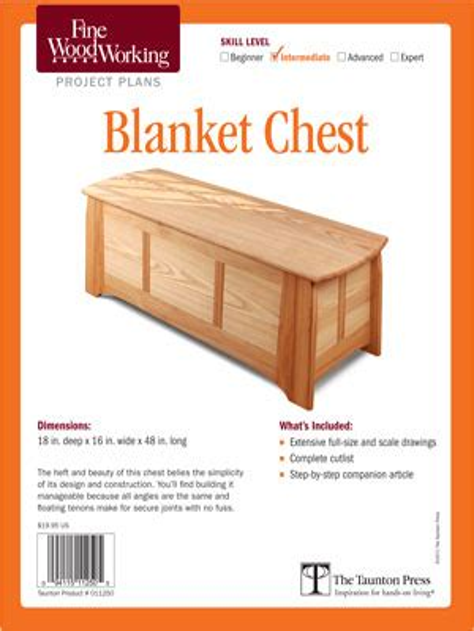 Frame-And-Panel-Blanket-Chest-Plans