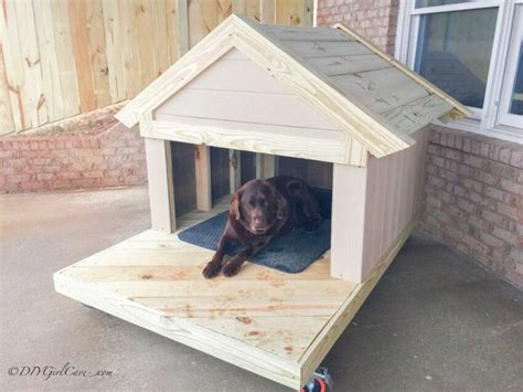 Framed Dog House Plans
