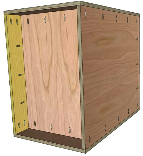 Frameless Garage Cabinet Plans