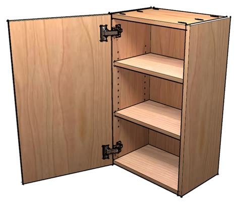 Frameless Wall Cabinet Plans