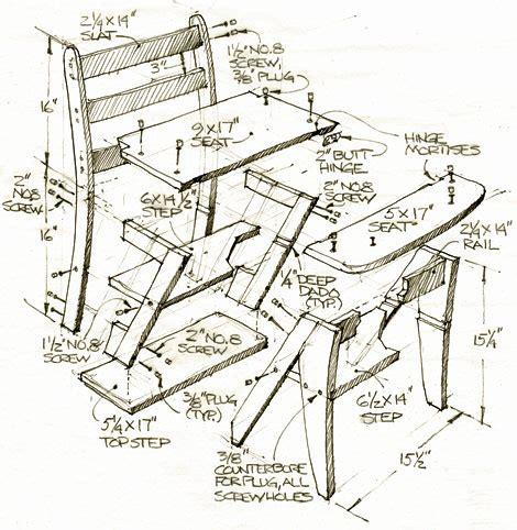 Franklin-Chair-Ladder-Plans