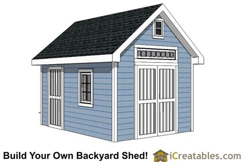 Free 10x14 Gable Shed Plans