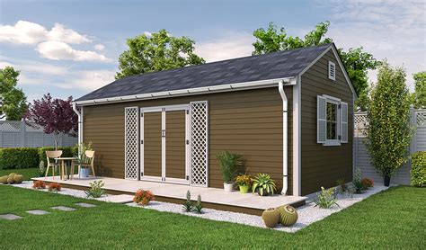 Free 16x20 Shed Plans Images