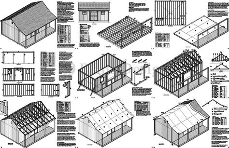 Free 16x20 Shed Plans With Material List