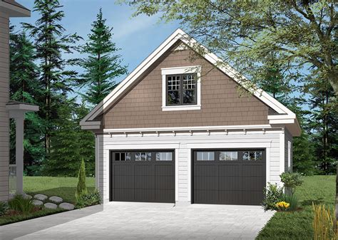 Free 2 Car Garage Plans With Workshop