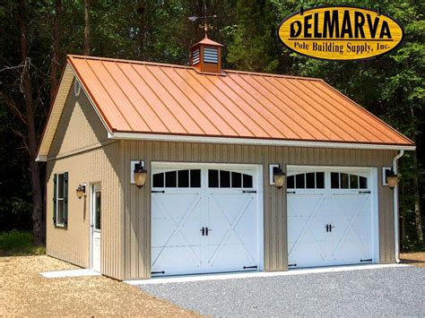 Free 2 Car Garage Pole Barn Plans
