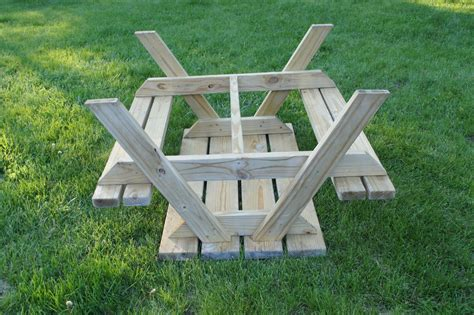 Free 2x4 Picnic Table Plans
