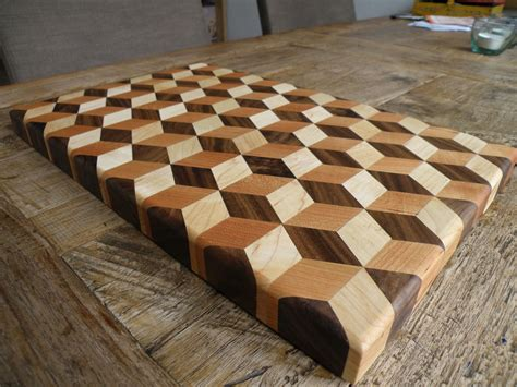 Free 3 D Cutting Board Plans