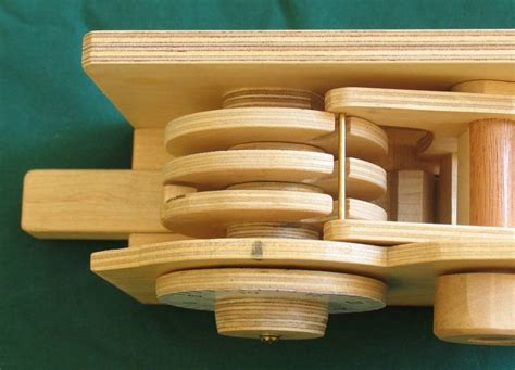 Free 3 Dial Wooden Combination Lock Plans