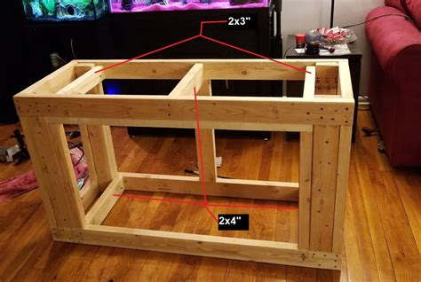 Free 75 Gallon Fish Tank Stand Plans