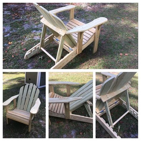 Free Adjustable Back Adirondack Chair Plans