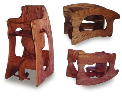 Free Amish 3 In 1 High Chair Plans